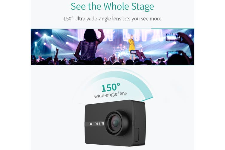Xiaomi Yi Lite Action Camera (Black)