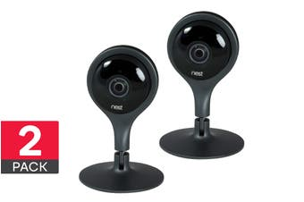 Nest Cam Indoor Security Camera - 2 Pack