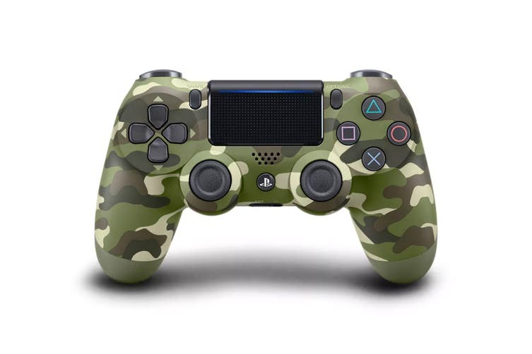 PS4 PlayStation Dualshock 4 Controller (Green Camo)