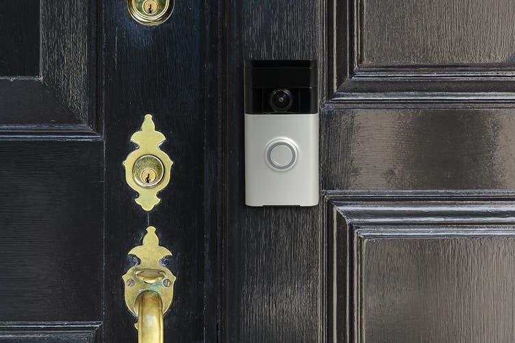 Ring Video Doorbell (Satin Nickel)