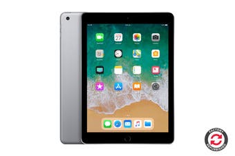 Refurbished Apple iPad 2018 (128GB, Wi-Fi, Space Grey)