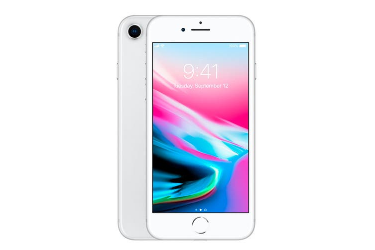 Apple iPhone 8 Refurbished (64GB, Silver) - A+ Grade