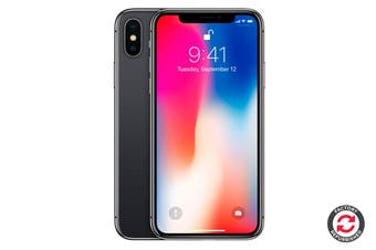 Refurbished Apple iPhone X (64GB, Space Grey)