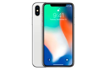 Apple iPhone X (Silver)