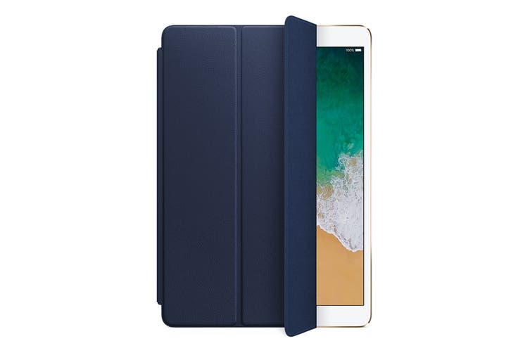 """Apple Leather Smart Cover for 10.5"""" iPad Pro (Midnight Blue)"""