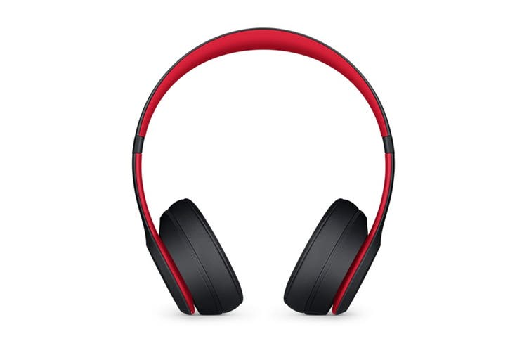 Beats Solo3 Wireless Headphones (Defiant Black-Red)