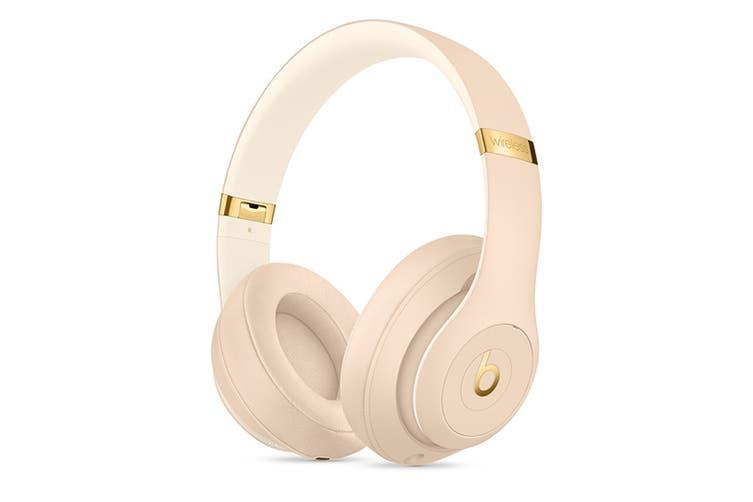 Beats Studio3 Wireless Over-Ear Headphones (Desert Sand)