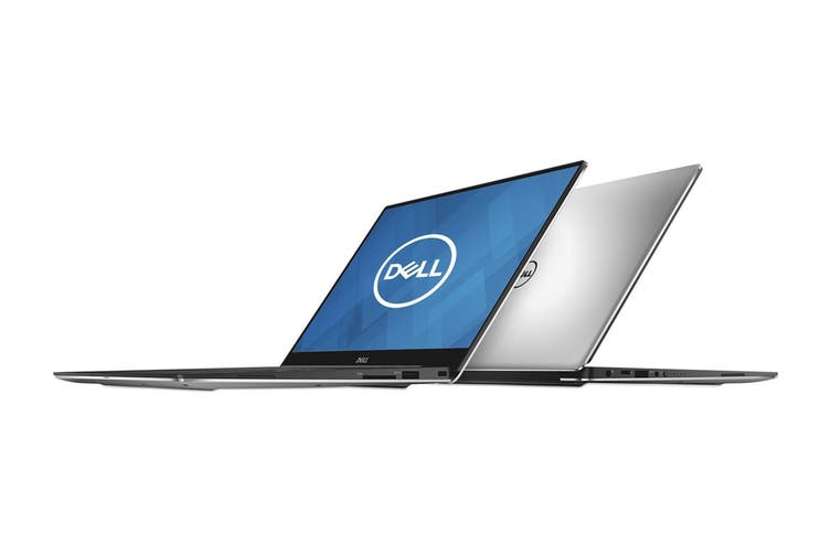 "Dell XPS 13 9360 13.3"" QHD Windows 10 Touch Screen Laptop (i7-7500, 8GB RAM, 256GB, Silver) - Certified Refurbished"