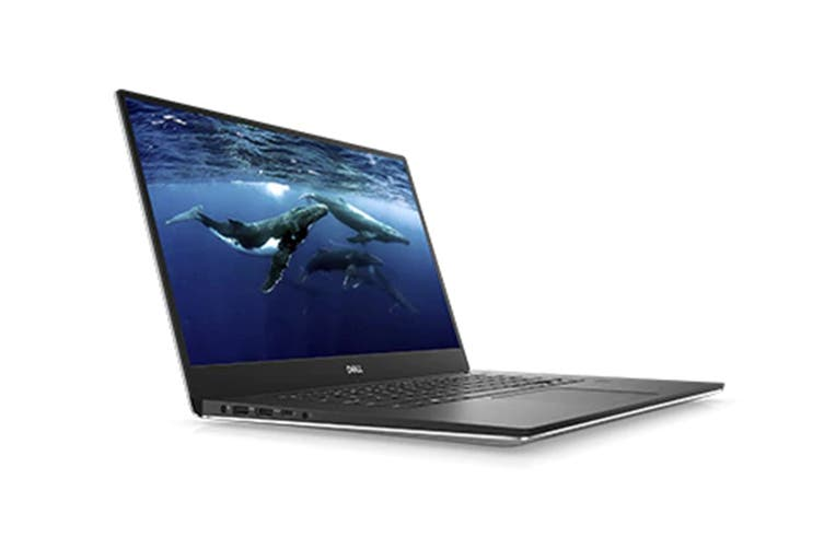 """Dell XPS 15 9570 15.6"""" 4K Touch Screen Laptop (i7-8750H, GTX 1050 Ti, 32GB RAM, 1TB, Silver) - Certified Refurbished"""