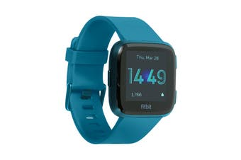 Fitbit Versa Lite Edition Fitness Watch (Marina Blue)
