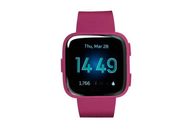Fitbit Versa Lite Edition Fitness Watch (Mulberry)