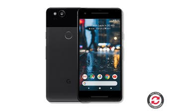 Google Pixel 2 Refurbished (64GB, Just Black) - B Grade