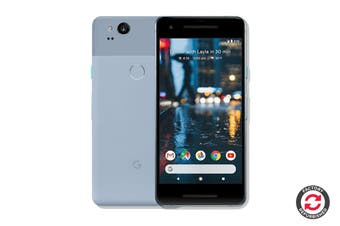 Google Pixel 2 Refurbished (64GB, Kinda Blue) - A+ Grade