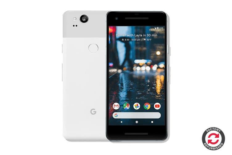 Google Pixel 2 Refurbished (64GB, Clearly White) - B Grade