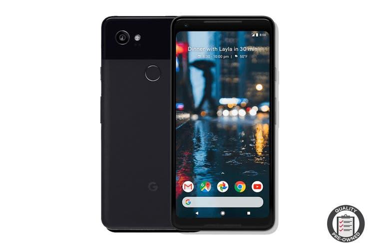 Google Pixel 2 XL Refurbished (128GB, Just Black) - AB Grade