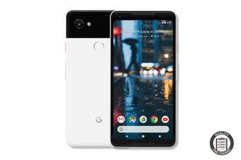 Google Pixel 2 XL Refurbished (64GB, Black & White) - B Grade