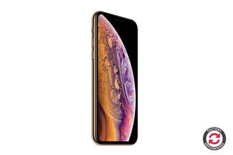 Apple iPhone XS Refurbished (64GB, Gold) - AB Grade