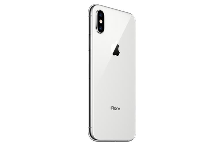 Apple iPhone XS Max Refurbished (256GB, Silver) - AB Grade