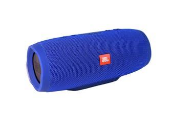 JBL Charge 3 Waterproof Bluetooth Speaker - Blue