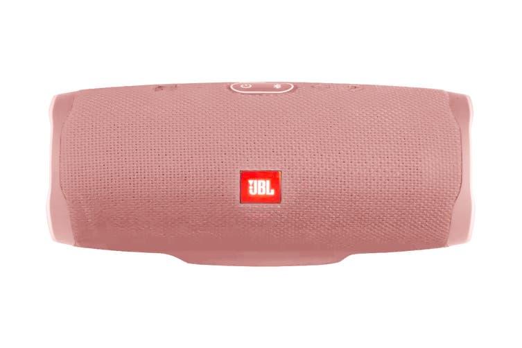 JBL Charge 4 Portable Bluetooth Speaker (Pink)