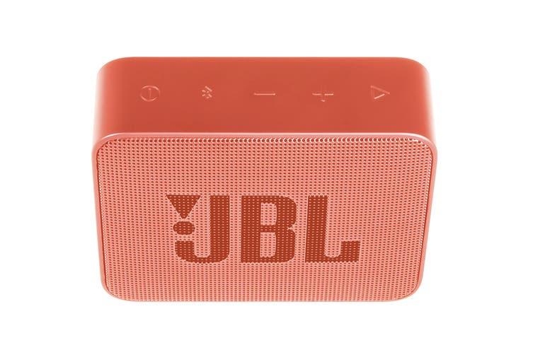JBL GO 2 Portable Bluetooth Speaker (Cinamon)