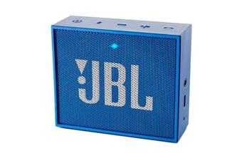 JBL GO Portable Bluetooth Speaker (Blue)