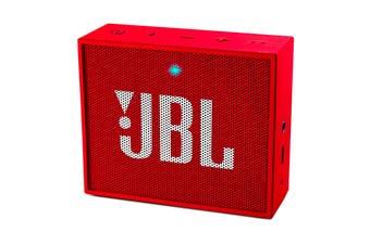 JBL GO Portable Bluetooth Speaker (Red)