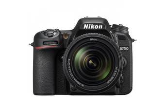 Nikon D7500 with AF-S DX NIKKOR 18-140mm f/3.5-5.6G ED VR Lens