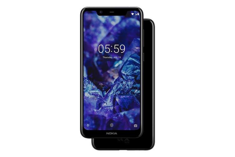 Nokia 5.1 Plus (32GB, Night Black)