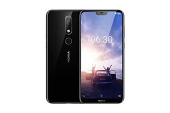 Nokia 6.1 Plus (64GB, Black)