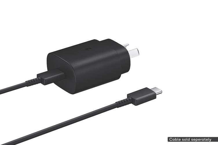 Samsung USB Fast Charging Type-C Travel Adapter (25W, Black)