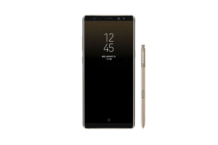 Samsung Galaxy Note8 Refurbished (64GB, Maple Gold) - A Grade