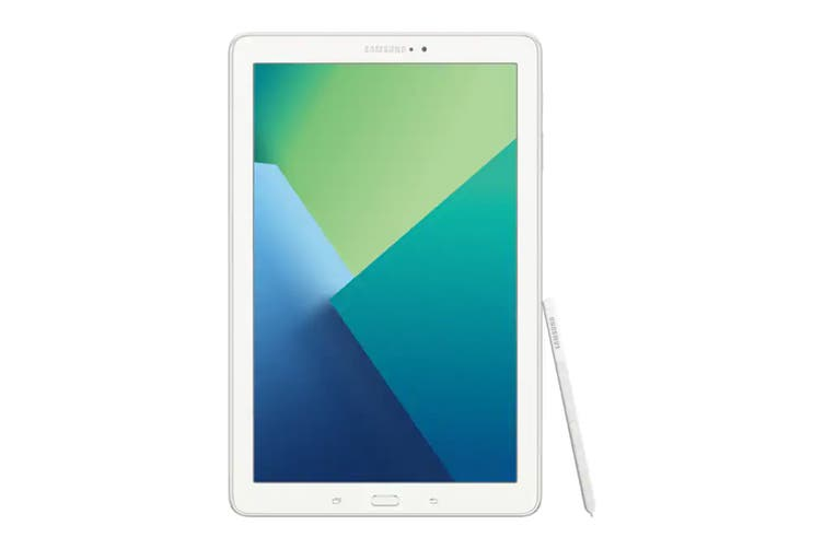 """Samsung Galaxy Tab A with S-Pen 10.1"""" P585 (16GB, Cellular, White)"""