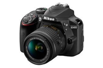 Nikon D3400 DSLR Camera 18-55mm Lens Kit