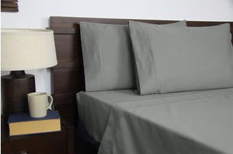 Apartmento Micro Flannel Sheet Set (Grey)
