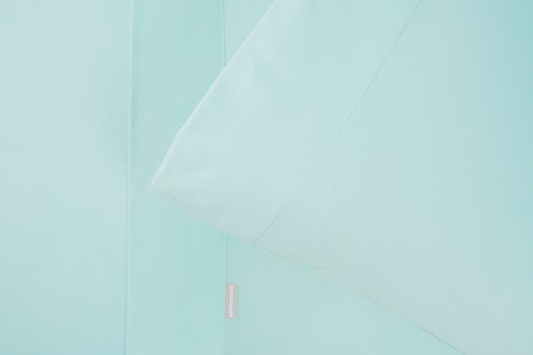 Apartmento Micro Flannel Sheet Set (Turquoise, Queen)