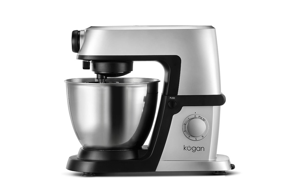 Food Preparation - Kogan 1200W Deluxe Stand Mixer (Silver)