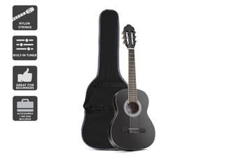"Royale 1/2 Size 34"" Classical Guitar (Black)"