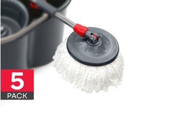 Mop Heads for Magic 360° Spin Mop (5 Pack)