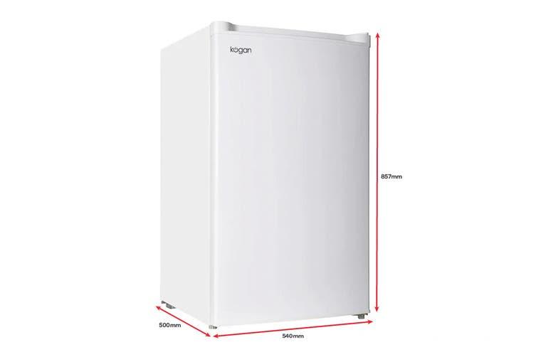 Kogan 92L WhiteCold Upright Freezer