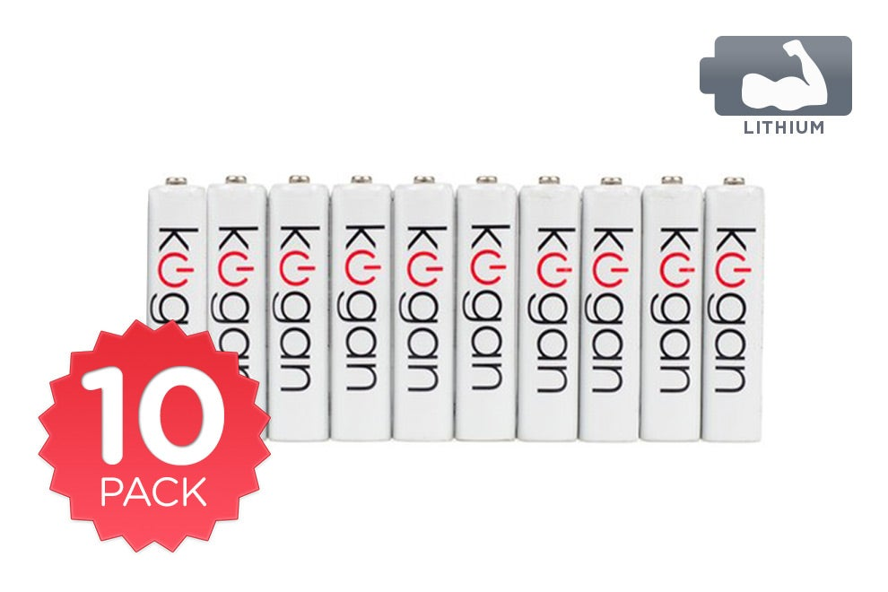 Batteries - 10 Pack Kogan Lithium AAA Batteries