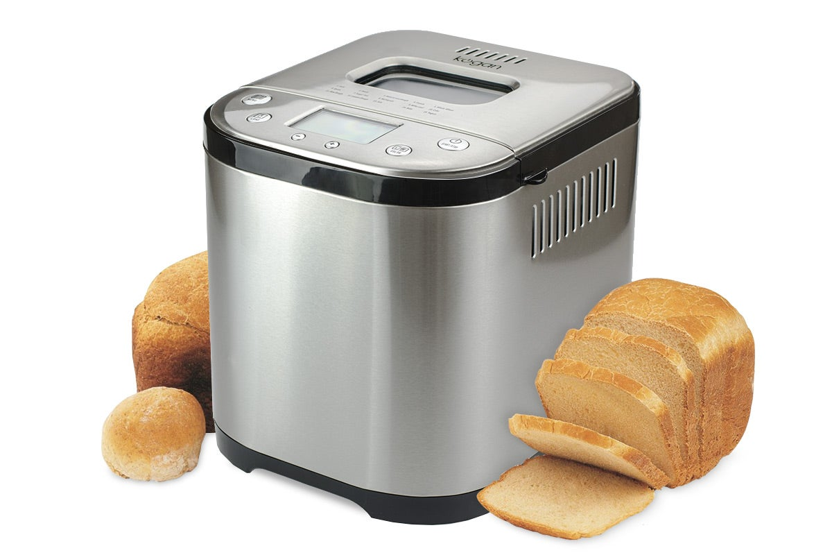 Cooking Appliances - Kogan Stainless Steel Bread Maker