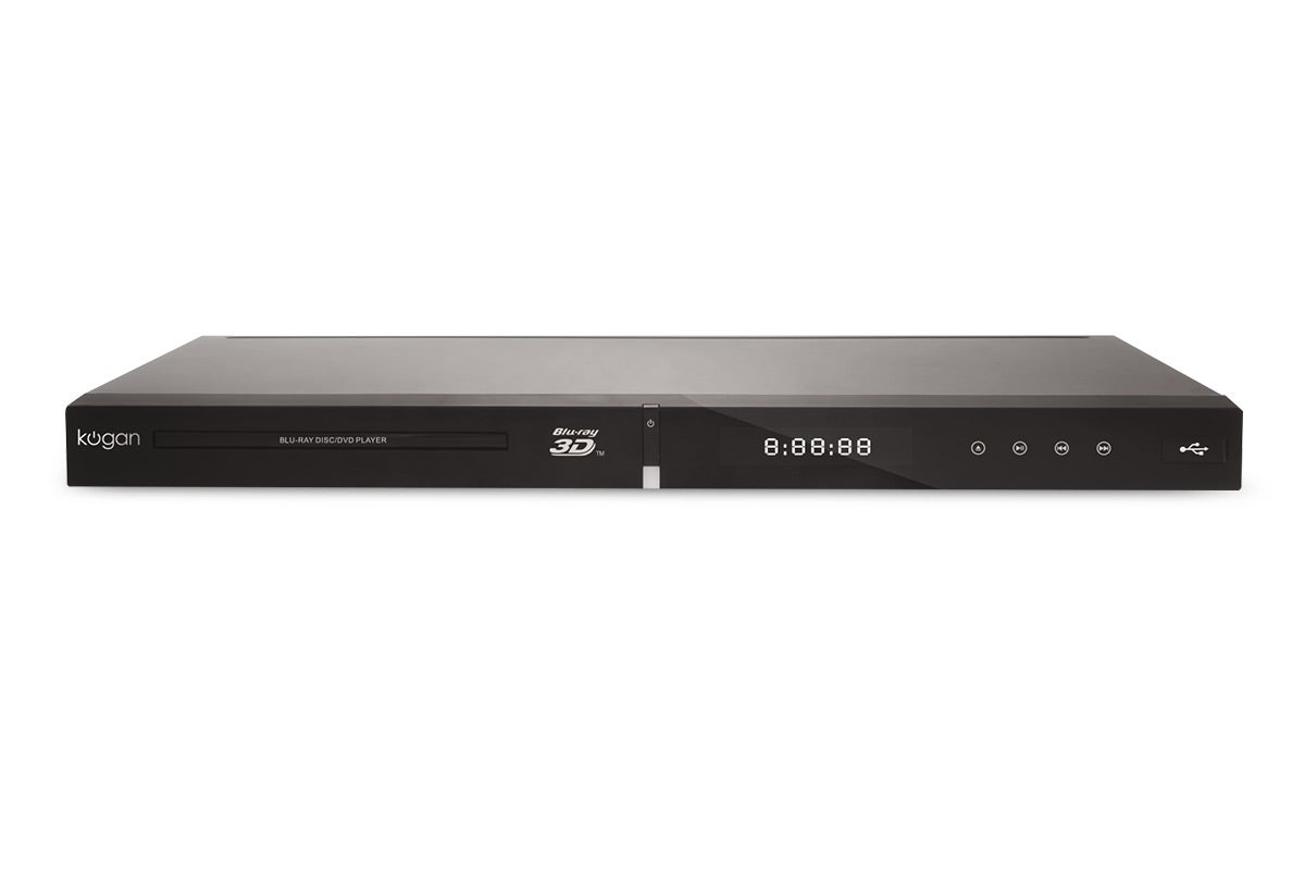 Blu-Ray Players - Kogan 3D Blu-Ray Player with 4K Upscaling