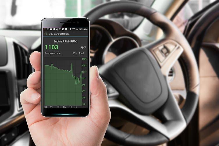Mini ELM327 Car Diagnostic Scanner for Android