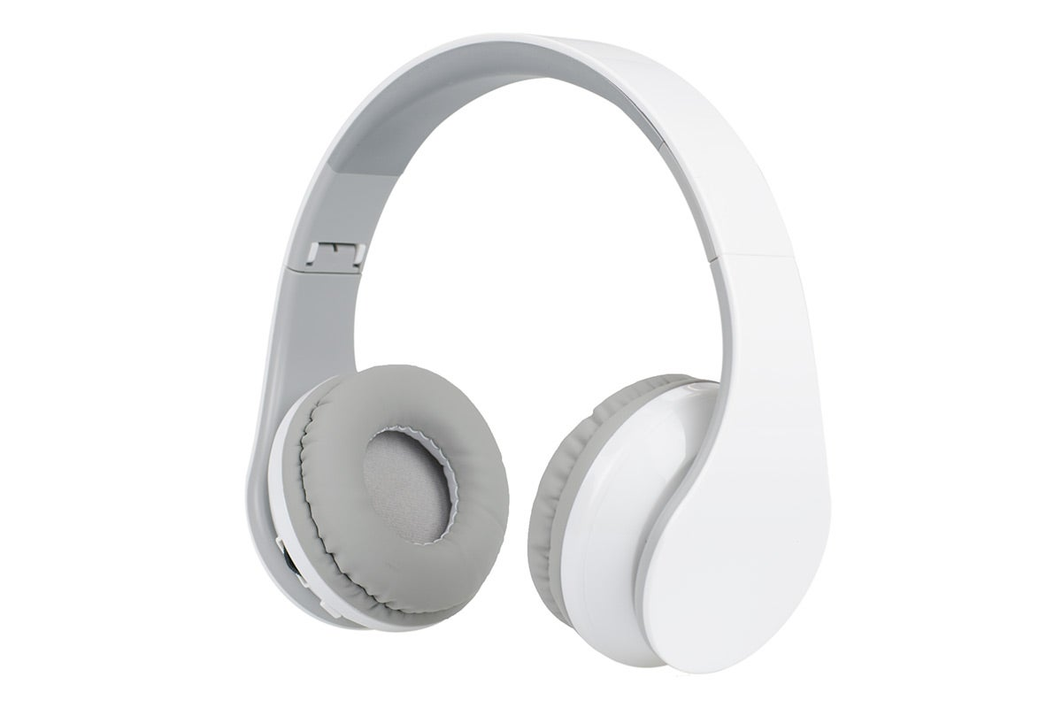 Wireless Headphones - Kogan Pro Urban DJ Studio Bluetooth 4.0 Headphones (White)