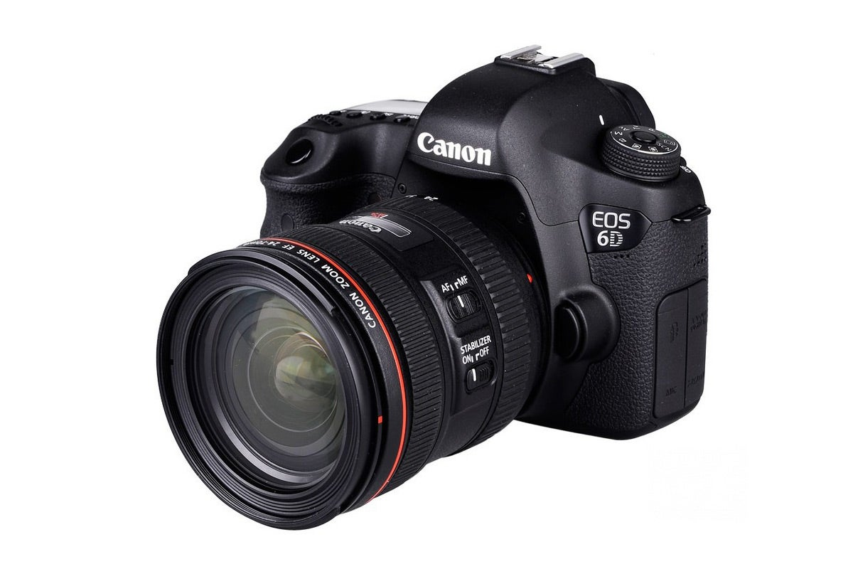 DSLR Cameras - Canon EOS 6D DSLR 24-70mm IS Lens Kit (Black)