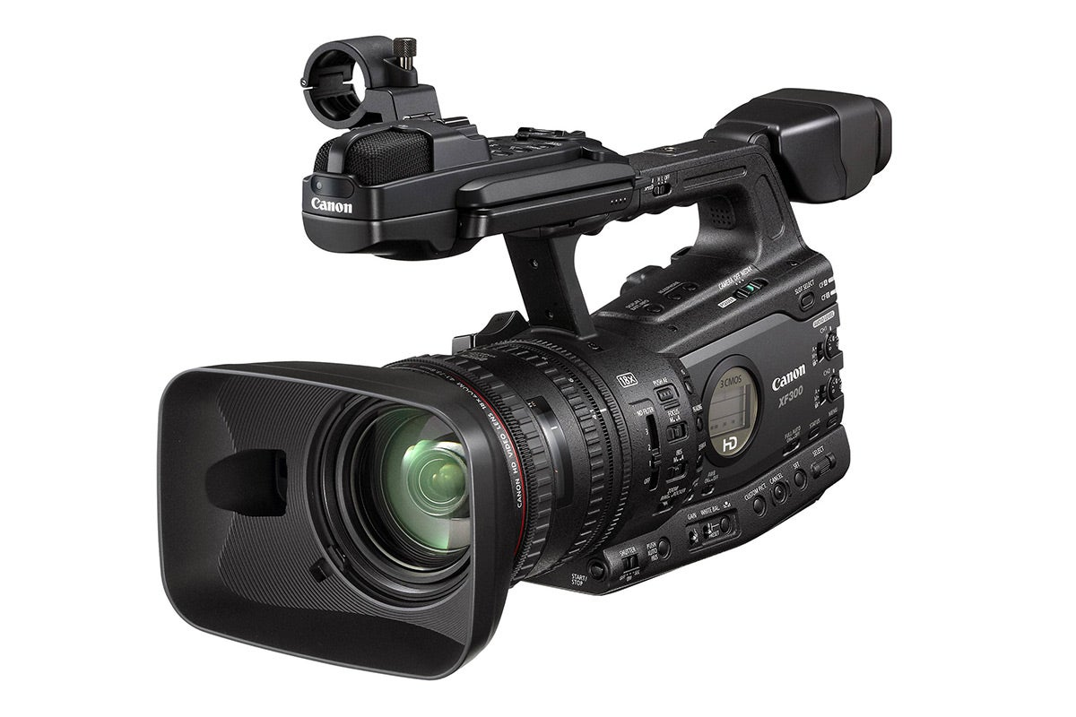 Video Cameras - Canon XF300 Professional Camcorder