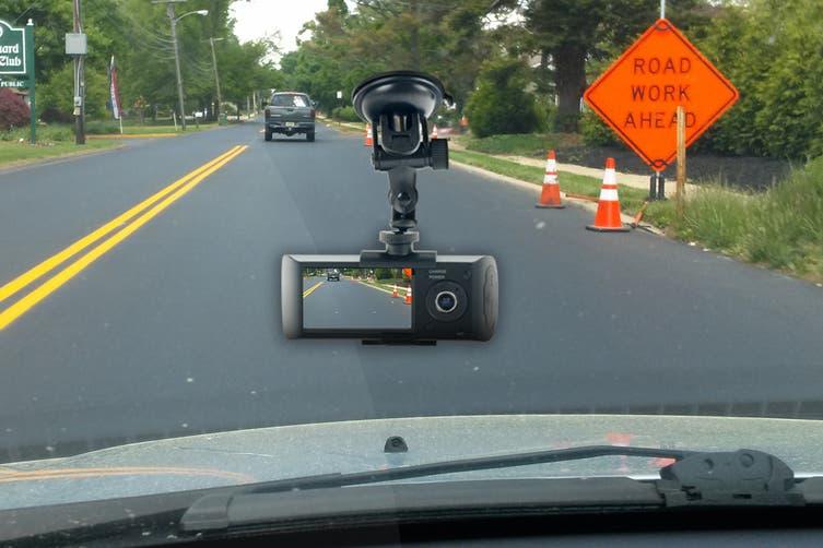 Kogan Dual Car Dash Camera Video Recorder with GPS