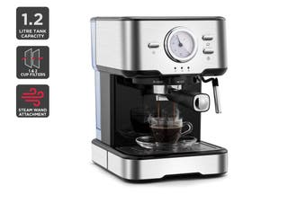 Kogan Espresso Coffee Machine (Stainless Steel)