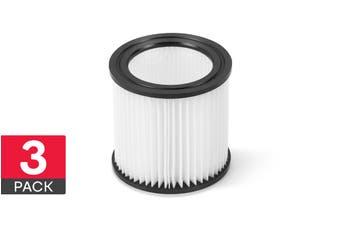 Kogan 21L Wet & Dry Vacuum Filter (3 Pack)